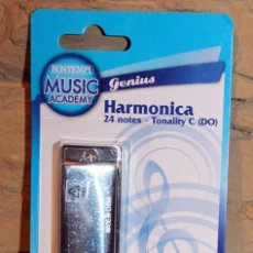 Instrumentos musicales: HARMONICA BUONTEMPI - NUEVA Y EN SU BLISTER ORIGINAL - 24 NOTAS. Lote 232753340