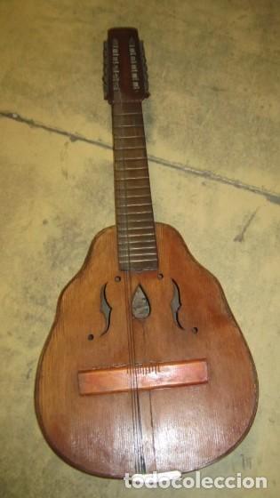 LAUD ANTIGUO, FABRICADO POR HIJOS DE VICENTE TATAY, VALENCIA (Música - Instrumentos Musicales - Cuerda Antiguos)