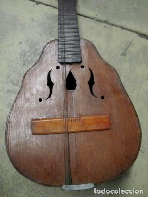 Instrumentos musicales: Laud antiguo, fabricado por Hijos de Vicente Tatay, Valencia - Foto 2 - 232940190