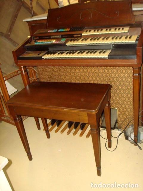 ORGANO HARMONIO ANTIGUO MARCA WURTLTZER (Música - Instrumentos Musicales - Pianos Antiguos)