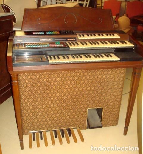 Instrumentos musicales: Organo harmonio antiguo marca WURTLTZER - Foto 5 - 232942090