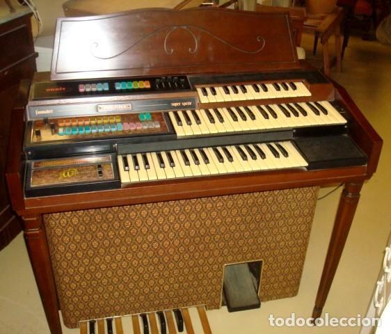 Instrumentos musicales: Organo harmonio antiguo marca WURTLTZER - Foto 6 - 232942090