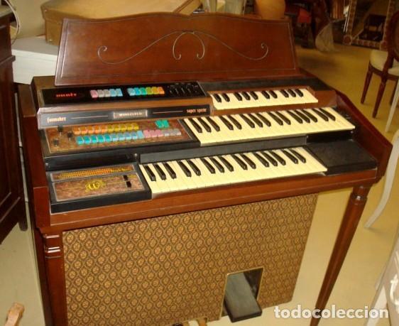 Instrumentos musicales: Organo harmonio antiguo marca WURTLTZER - Foto 7 - 232942090