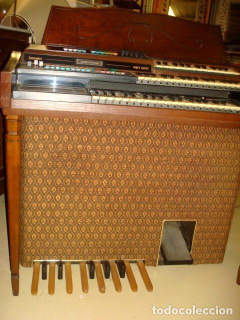 Instrumentos musicales: Organo harmonio antiguo marca WURTLTZER - Foto 8 - 232942090