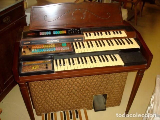 Instrumentos musicales: Organo harmonio antiguo marca WURTLTZER - Foto 9 - 232942090