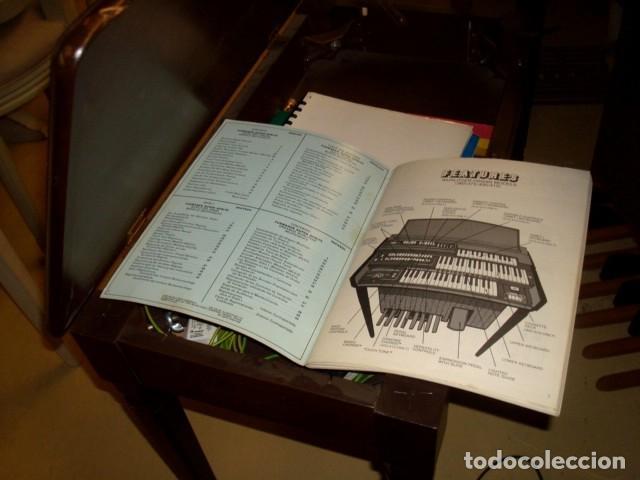 Instrumentos musicales: Organo harmonio antiguo marca WURTLTZER - Foto 10 - 232942090