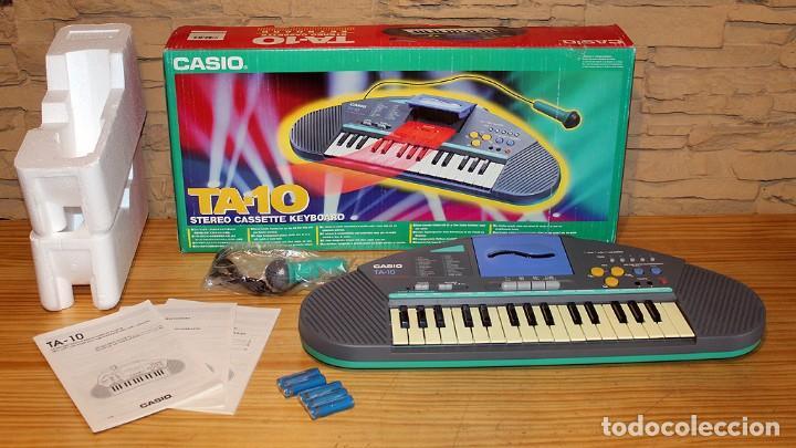 ANTIGUO TECLADO CASIO TA-10 - NUEVO A ESTRENAR Y FUNCIONANDO - IMPECABLE (Música - Instrumentos Musicales - Teclados Eléctricos y Digitales)