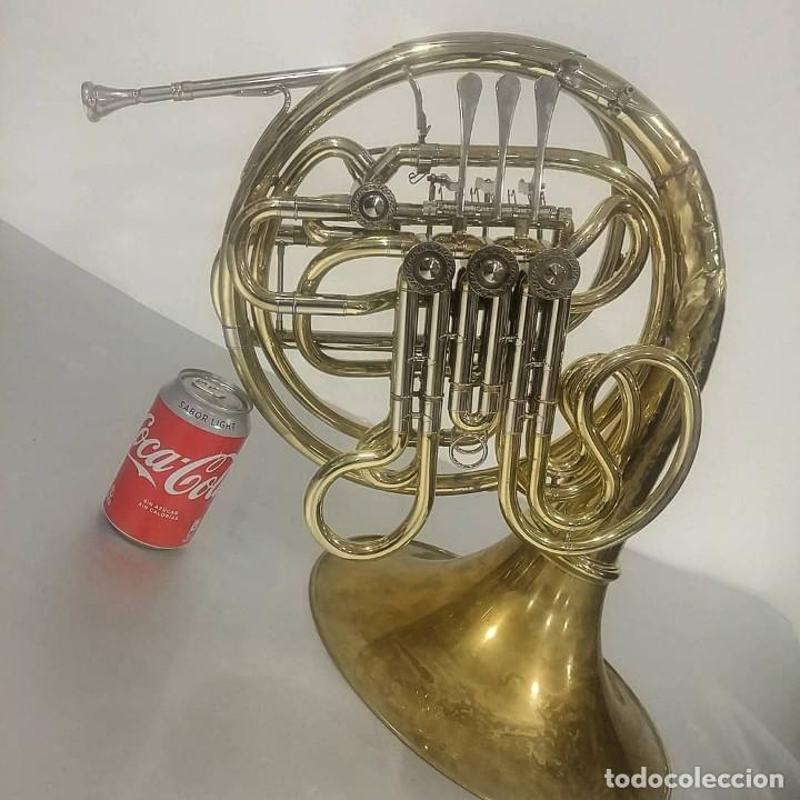 Instrumentos musicales: Trompa Gara (Instrumento viento-metal) [Horn] || jrsanchezantiques - Foto 7 - 233500455