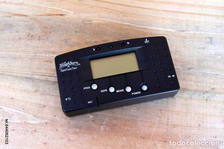 Instrumentos musicales: Afinador wasburn entrada jack o con su micro. - Foto 3 - 233511180