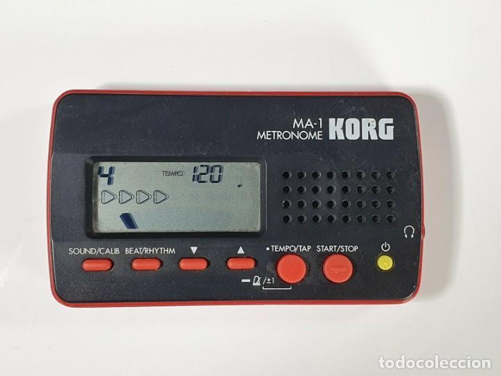KORG MA 1 METRÓNOMO (Música - Instrumentos Musicales - Accesorios)