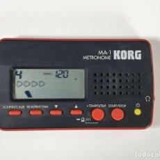 Instrumentos musicales: KORG MA 1 METRÓNOMO. Lote 233512360