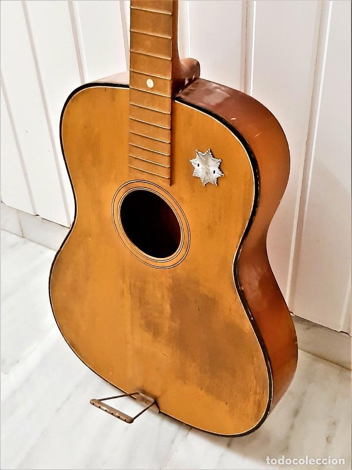 ANTIGUA GUITARRA SIN CUERDAS - 97.CM LARGO (Música - Instrumentos Musicales - Guitarras Antiguas)