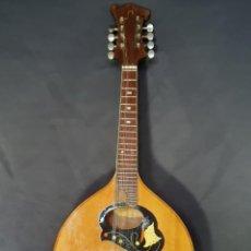 Instrumentos musicales: MANDOLINA. MARQUETERÍA. SIGLO XX.. Lote 234447125
