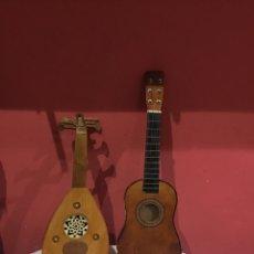 Instrumentos musicales: GUITARRAS MUSICALES NIÑOS ANTIGUAS .VER FOTOS. Lote 234718710