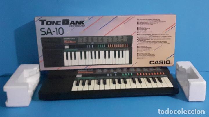 ORGANO TECLADO CASIO. TONE BANK SA-10. FUNCIONANDO. (Música - Instrumentos Musicales - Teclados Eléctricos y Digitales)