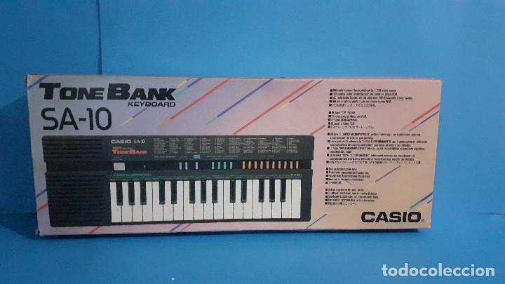 Instrumentos musicales: Organo teclado casio. Tone bank SA-10. Funcionando. - Foto 15 - 234826510