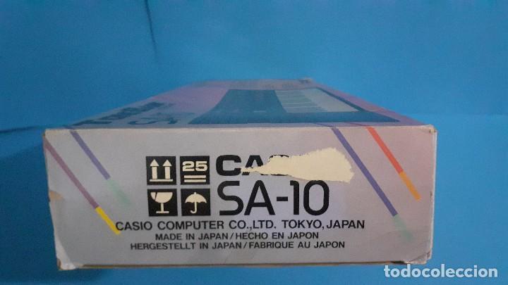 Instrumentos musicales: Organo teclado casio. Tone bank SA-10. Funcionando. - Foto 16 - 234826510