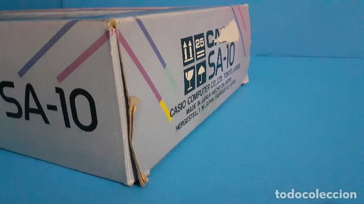 Instrumentos musicales: Organo teclado casio. Tone bank SA-10. Funcionando. - Foto 17 - 234826510