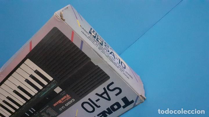 Instrumentos musicales: Organo teclado casio. Tone bank SA-10. Funcionando. - Foto 18 - 234826510