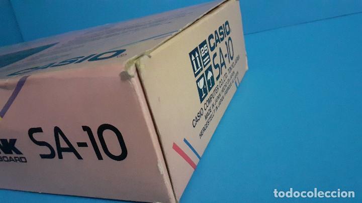 Instrumentos musicales: Organo teclado casio. Tone bank SA-10. Funcionando. - Foto 19 - 234826510