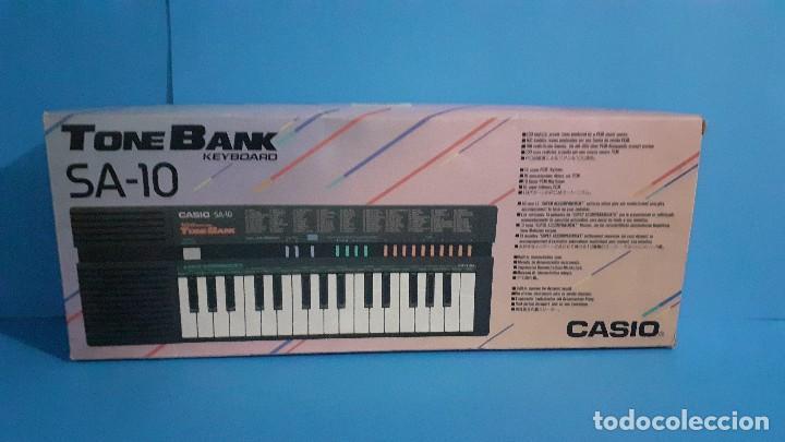 Instrumentos musicales: Organo teclado casio. Tone bank SA-10. Funcionando. - Foto 21 - 234826510