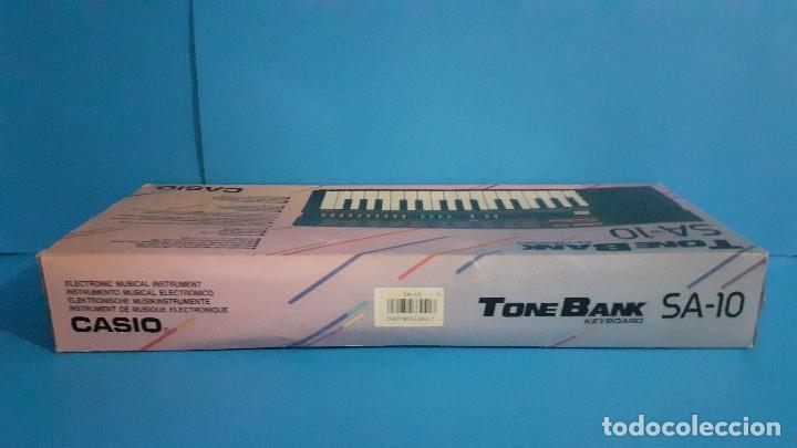 Instrumentos musicales: Organo teclado casio. Tone bank SA-10. Funcionando. - Foto 22 - 234826510