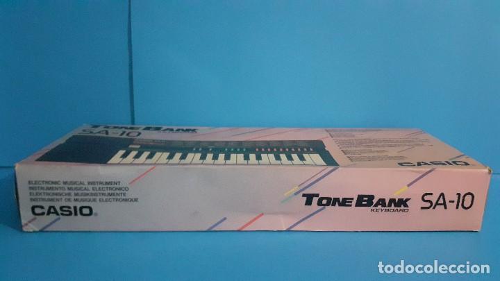 Instrumentos musicales: Organo teclado casio. Tone bank SA-10. Funcionando. - Foto 23 - 234826510
