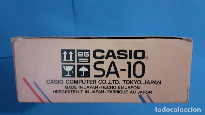 Instrumentos musicales: Organo teclado casio. Tone bank SA-10. Funcionando. - Foto 24 - 234826510