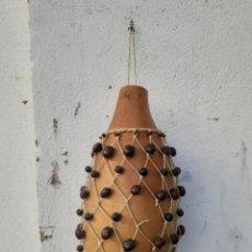 Instrumentos musicales: CALABAZA EN INSTRUMENTO DE CUBA. Lote 234840970