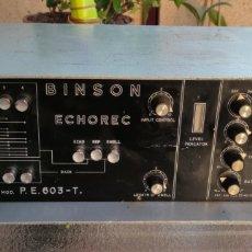 Instrumentos musicales: BINSIN ECHOREC P.E. 603-T.. Lote 235414420