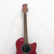 Instrumentos musicales: GUITARRA ELECTRO ACUSTICA. CUTAWAY ROUNDBACK 105 X 40 X 16 CMS. BUEN ESTADO VER FOTOS. REGALO FUNDA. Lote 235983380