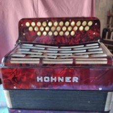 Instrumentos musicales: CONCERTINA ACORDEÓN HOHNER NORMA L, ORIGINAL HOHNER GERMANY, BOTÓN. Lote 236054675
