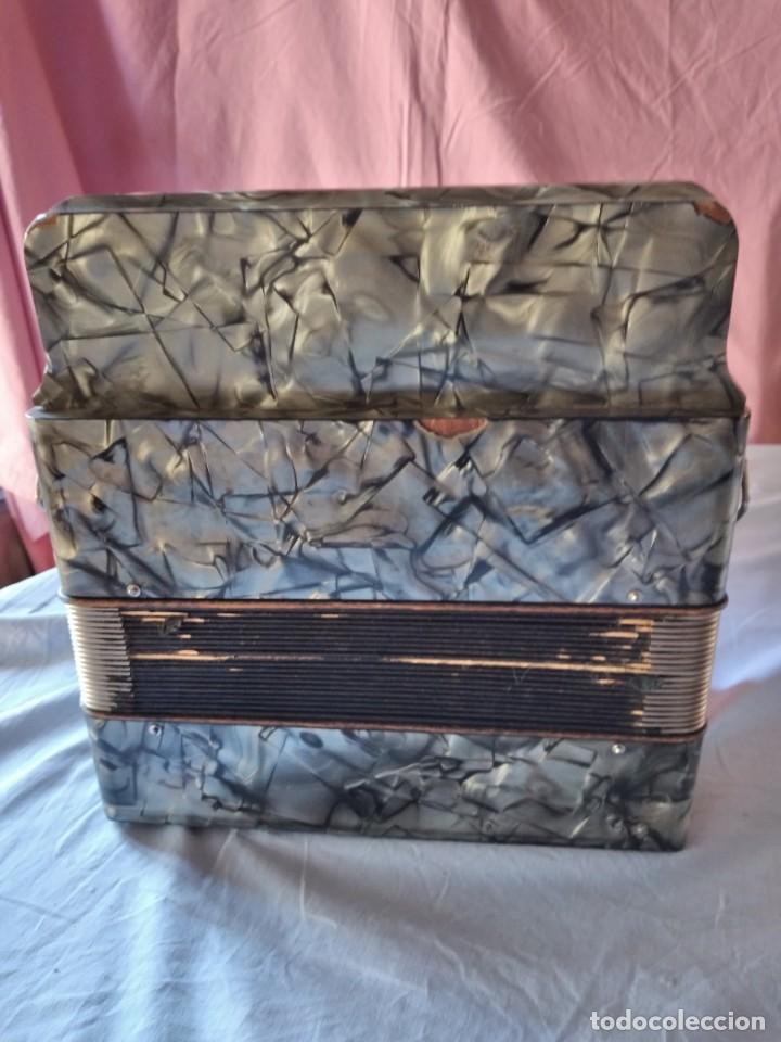 Instrumentos musicales: concertina acordeón Hohner Club II B victoria botón,germany - Foto 9 - 236054900