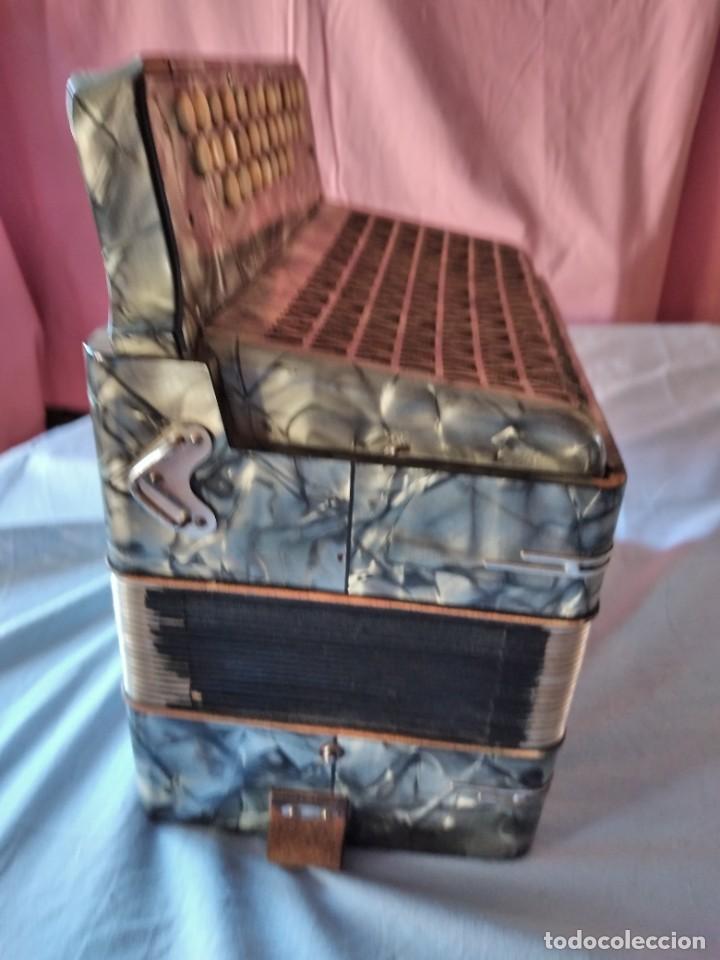 Instrumentos musicales: concertina acordeón Hohner Club II B victoria botón,germany - Foto 11 - 236054900