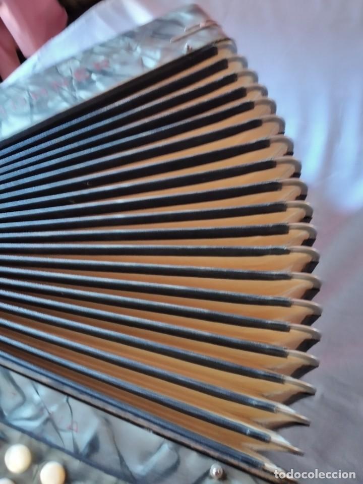 Instrumentos musicales: concertina acordeón Hohner Club II B victoria botón,germany - Foto 14 - 236054900