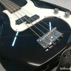 Instrumentos musicales: BAJO ELÉCTRICO DE CUADRO CUERDAS HARLEY BENTON PB-20 BK STANDARD SERIES + FUNDA. Lote 236509420