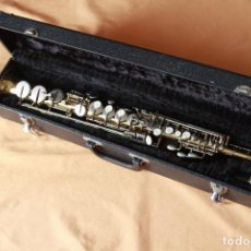 Instrumentos musicales: SAXOFON SOPRANO SONORA. Lote 236534550