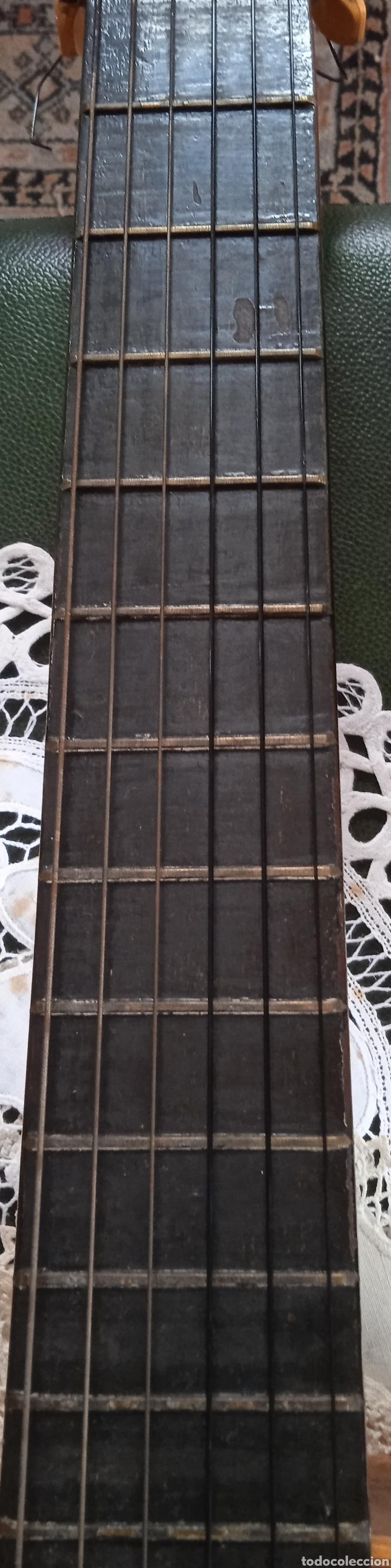 Instrumentos musicales: antigua guitarra española instrumentos musicales casa David gijon - Foto 2 - 236542885