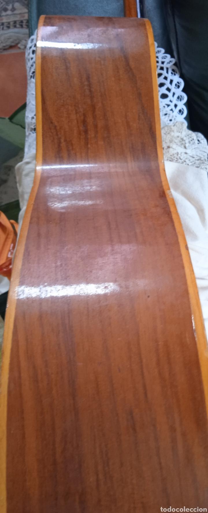 Instrumentos musicales: antigua guitarra española instrumentos musicales casa David gijon - Foto 4 - 236542885