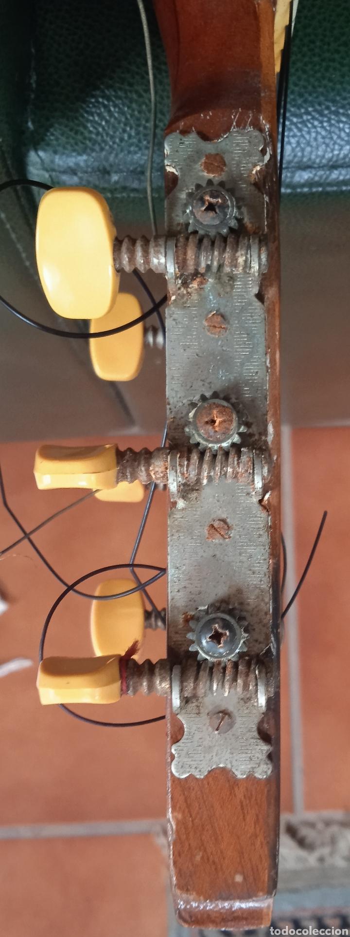 Instrumentos musicales: antigua guitarra española instrumentos musicales casa David gijon - Foto 6 - 236542885