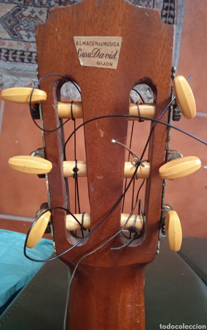 Instrumentos musicales: antigua guitarra española instrumentos musicales casa David gijon - Foto 8 - 236542885