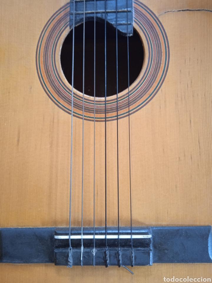 Instrumentos musicales: antigua guitarra española instrumentos musicales casa David gijon - Foto 9 - 236542885