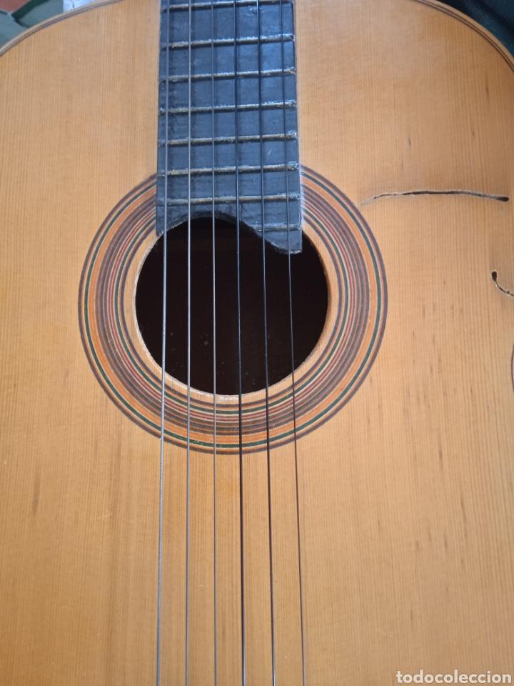 Instrumentos musicales: antigua guitarra española instrumentos musicales casa David gijon - Foto 10 - 236542885