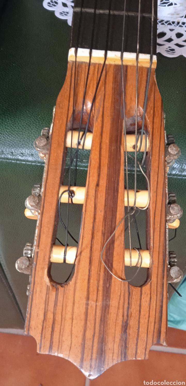 Instrumentos musicales: antigua guitarra española instrumentos musicales casa David gijon - Foto 11 - 236542885
