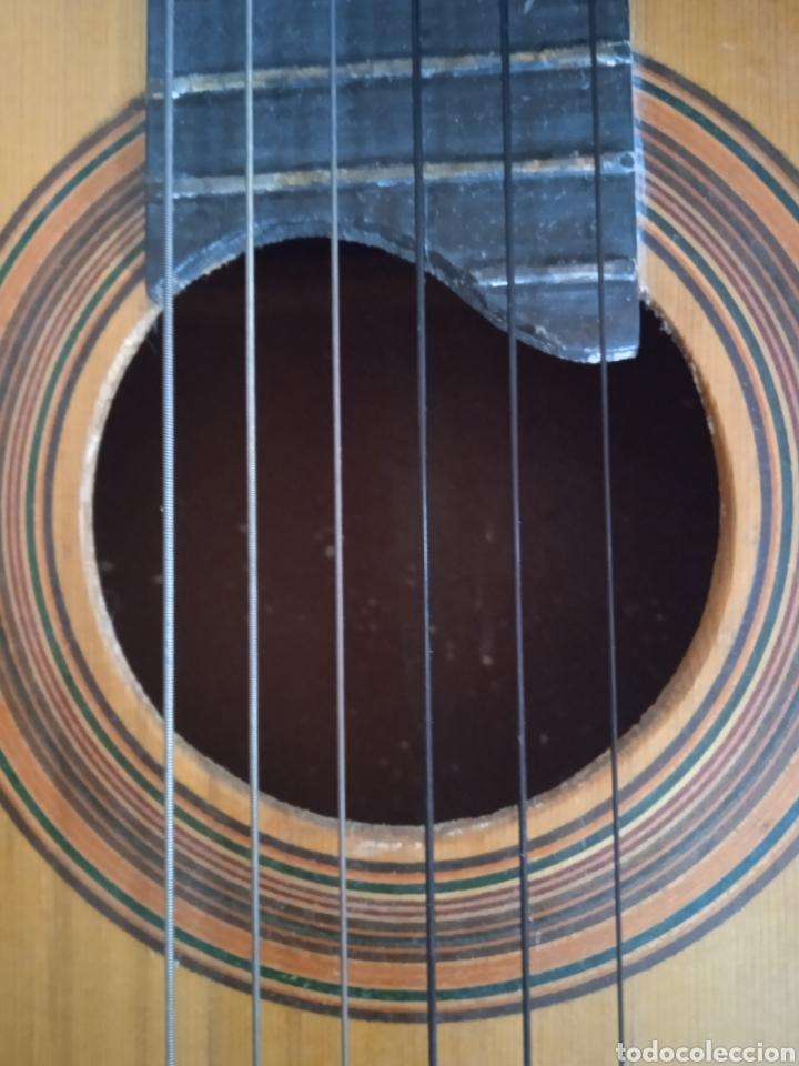 Instrumentos musicales: antigua guitarra española instrumentos musicales casa David gijon - Foto 14 - 236542885