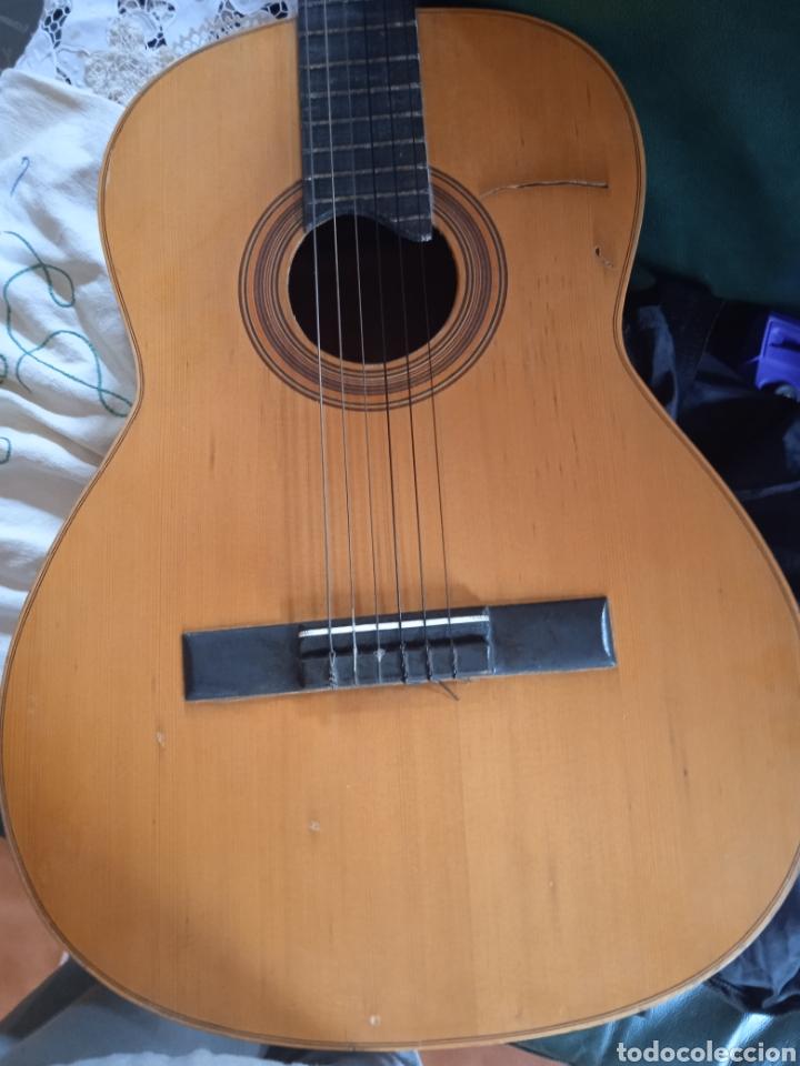 Instrumentos musicales: antigua guitarra española instrumentos musicales casa David gijon - Foto 15 - 236542885