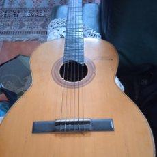 Instrumentos musicales: ANTIGUA GUITARRA ESPAÑOLA INSTRUMENTOS MUSICALES CASA DAVID GIJON. Lote 236542885