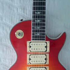 Instrumentos musicales: GUITARRA ACE FREHLEY KISS LES PAUL. Lote 236989485