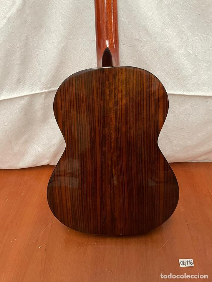 Instrumentos musicales: Guitarra española almirante - Foto 4 - 237328095