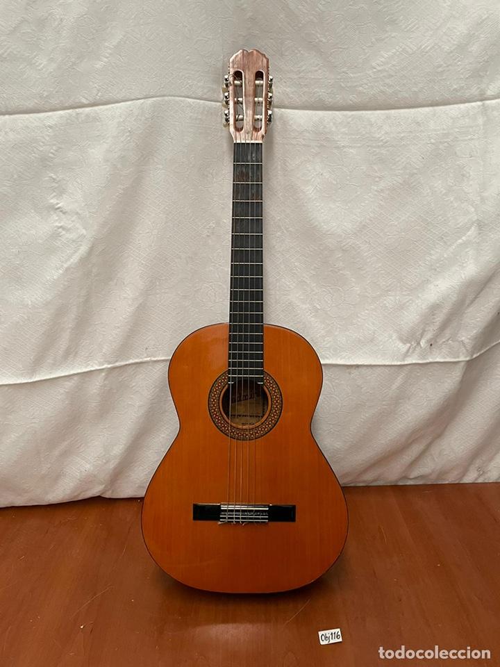 GUITARRA ESPAÑOLA ALMIRANTE (Música - Instrumentos Musicales - Guitarras Antiguas)
